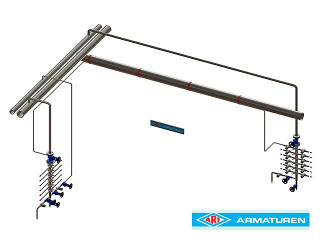 CODI Manifold - Kaynak Boyunlu Refakat Hattı Uygulaması