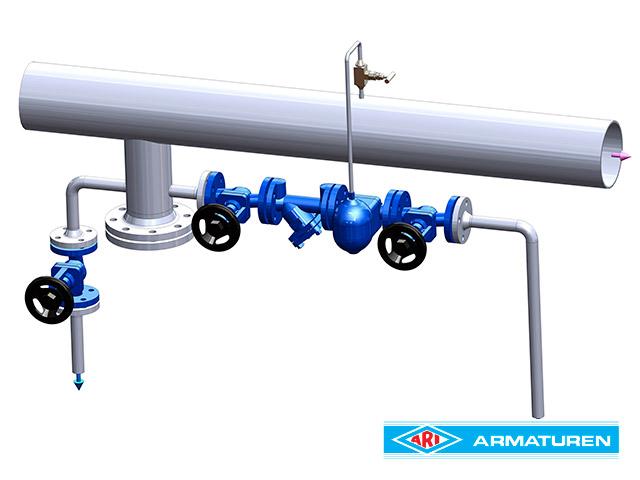Hava ve Gaz Hatlarından Sıvı Atıcı Uygulaması