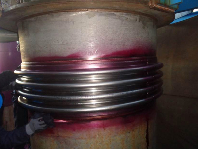 LPT Control of the weldings