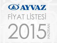 2015 Haziran Fiyat Listemiz ��kt�!