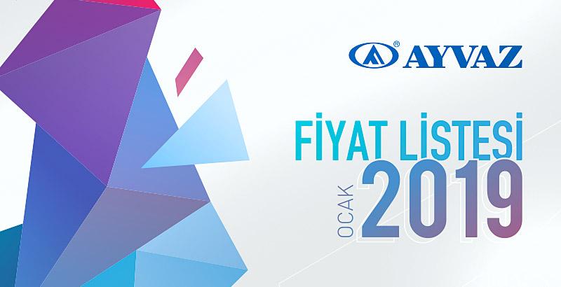 Ayvaz Ocak 2019 Fiyat Listesi çıktı!