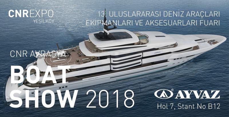 Ayvaz Boat Show Fuarında