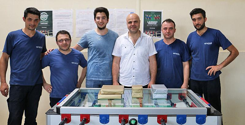 Ayvaz Çalışanları Geleneksel Langırt Turnuvasında Kıyasıya Yarıştı