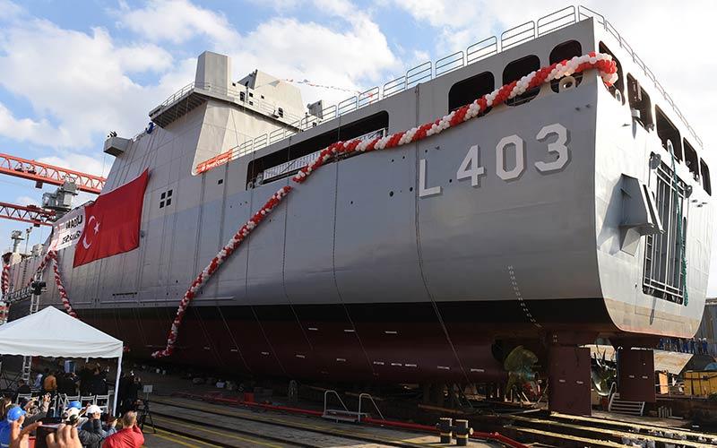 TCG Sancaktar adl� sava� gemisinde Ayvaz kompansat�rleri tercih edildi