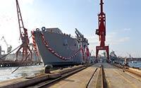 Türkiye'de üretilen en büyük savaş gemisinde Ayvaz ürünleri tercih edildi