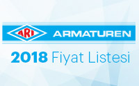ARI-Armaturen 2018 Fiyat Listesi Çıktı