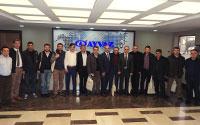 Ayvaz, Kayserili Misafirlerine Eğitim ve Fabrika Gezisi Düzenledi