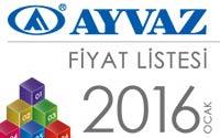 2016 Fiyat Listemiz Çıktı!