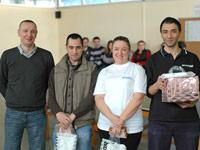 Ayvaz Çalışanları Ödüllü Masa Tenisi Turnuvasında Buluştu
