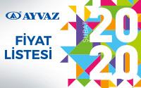 Ayvaz Şubat 2020 Fiyat Listesi çıktı!