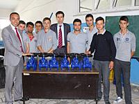 Ayvaz Eğitime Destek Faaliyetlerine Antalya Kepez ile Devam Ediyor