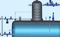 Cascade (Çağlayan) Tip Degazör Kubbeli Besi Suyu Tankı Uygulaması