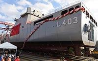 TCG Sancaktar adlı savaş gemisinde Ayvaz kompansatörleri tercih edildi