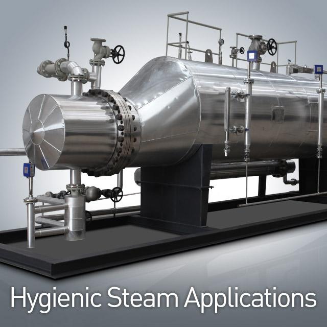 Hygienic Steam Applications