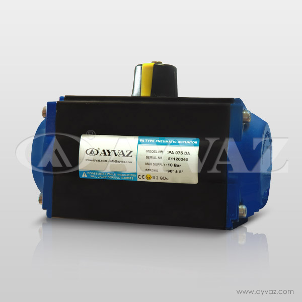 Dual Effect Pneumatic Actuator