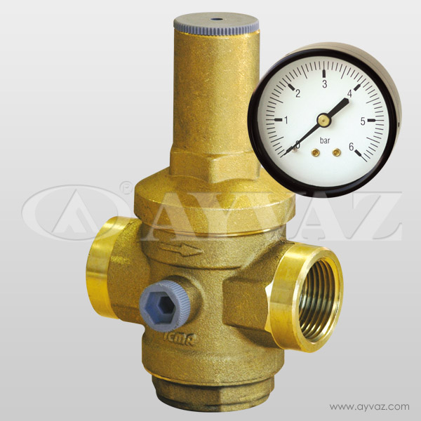 Threaded Pressure Reducing Valve