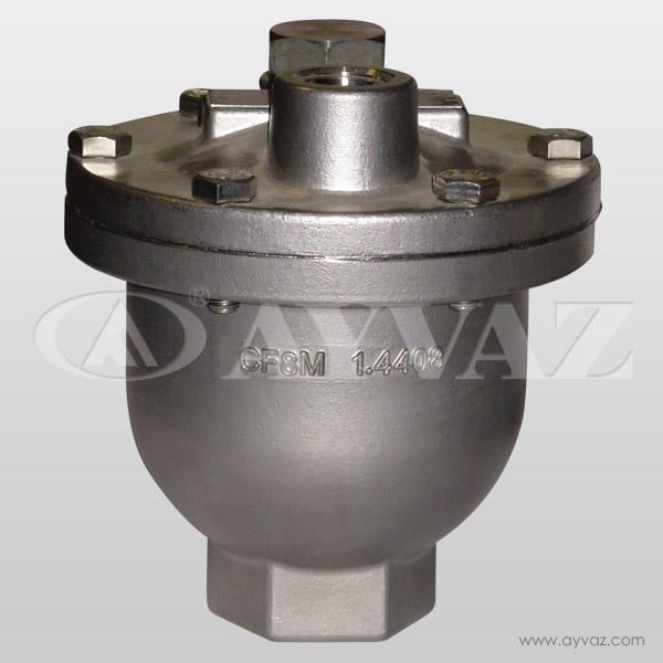 طارد الهواء HA – 62 (الفولاذ المقاوم للصدأ)