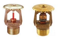 Quick Response Sprinkler - Upright