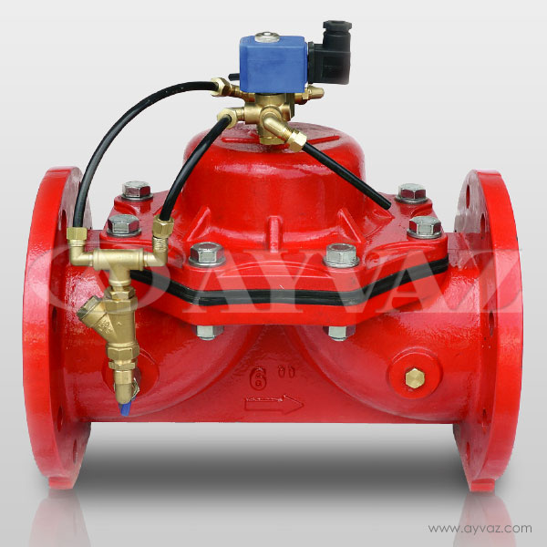 On-Off Valve - Solenoid Controlled