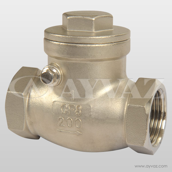 Check Valve Types >> Sc 200 Check Valve Ayvaz Check Valves Valves Types And