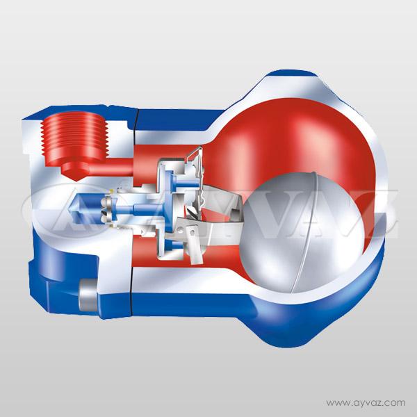 ARI-CONA-SC Hava ve Gaz Sistemlerinden Şamandıralı Sıvı Atıcı