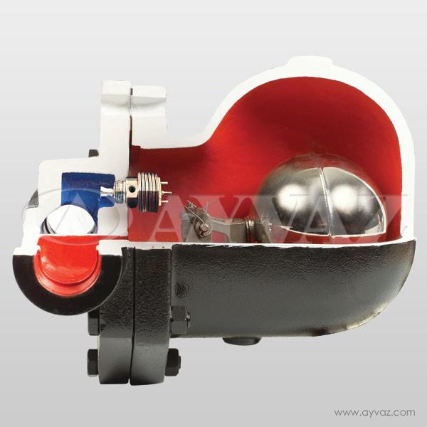SK-50B Bimetallic Float Type Steam Trap (DN-32-40-50)