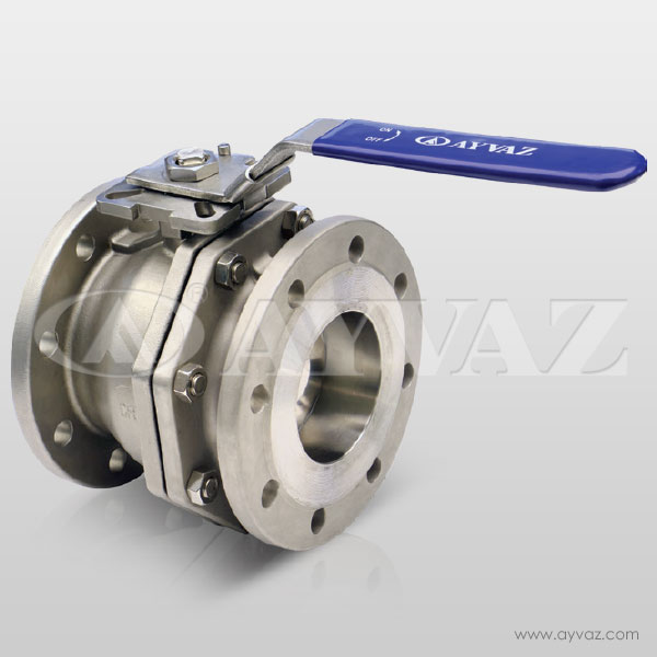 V-2F/FP Stainless Steel Ball Valves