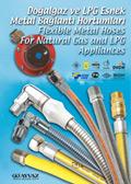 Canne Metalliche Flessibile per il gas natural e GPL
