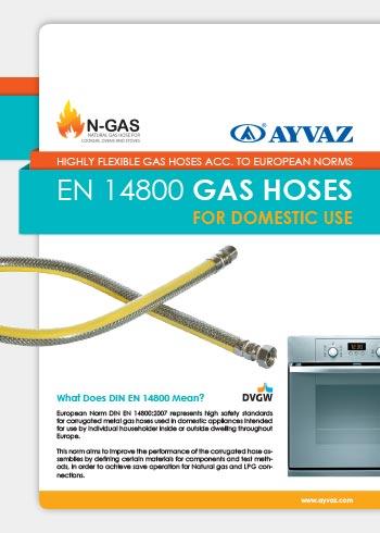 EN 14800 Canne di Gas