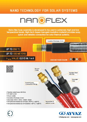 Nanoflex Solar Ba�lant� Hortumlar� Bro��r�